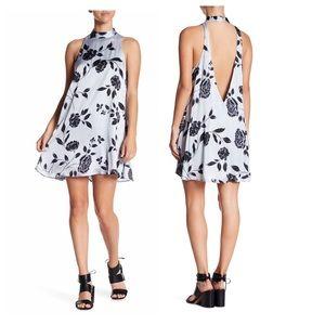 Show Me Your Mumu V-Cut Back Mini Dress